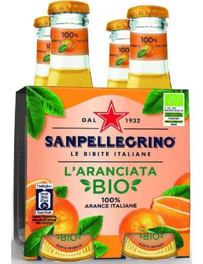 SANPELLEGRINO BIO ARANCIATA 4X20 CL