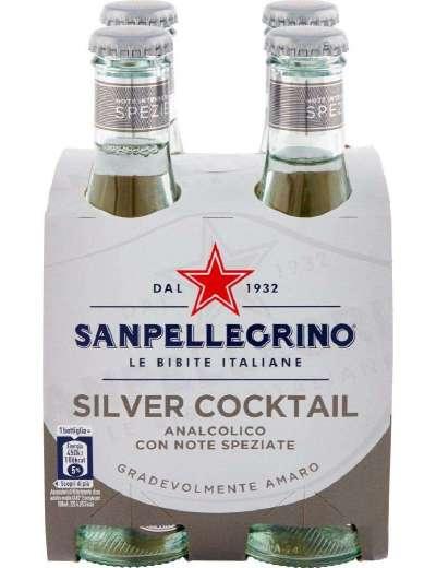 SANPELLEGRINO SILVER COCKTAIL 4X20 CL