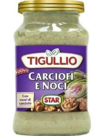 STAR PESTO TIGULLIO CARCIOFI NOCI VETRO GR 185