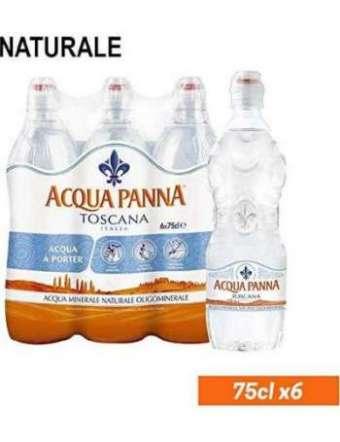 PANNA ACQUA NATURALE PET CL 75 X 6