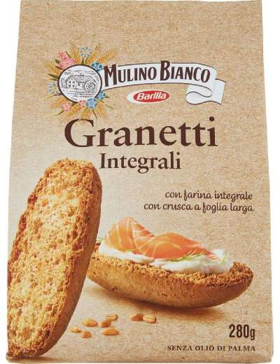 MULINO BIANCO GRANETTI INTEGRALI GR 280